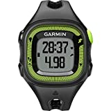 Best Garmin Exercise Trackers - Garmin Forerunner 15 (Certified Refurbished), Black/Green Review