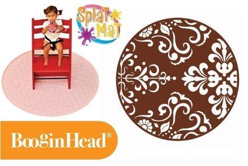 Booginhead Splat Mat Brown Flourish