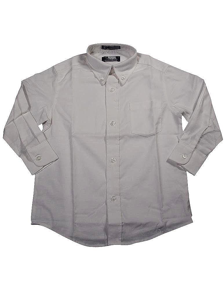 French Toast School Uniform Boys Long Sleeve Oxford Shirt