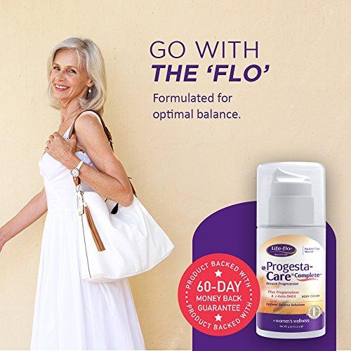 Life-Flo Progesta-Care w/Natural Progesterone Pregnenolone 7-Keto Cream for | Pump