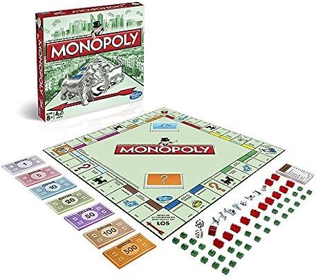 Hasbro Gaming - Monopoly clásico, Juego de Mesa (00009398 ...
