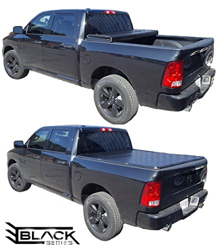 2004-2018 Ford F150 5.5ft Short Box | Hard Tri-Fold Cover | Solid Fold Tonneau Cover | Bed Cover (Top-Mount)