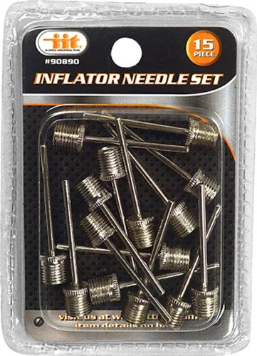 (IIT 90890 Inflator Needle Set, 15-Piece)