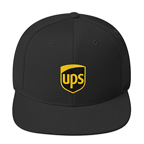 CadburyChihuahua UPS Snapback Hat Embroidered Hat For delivery Drivers for $<!--$30.00-->