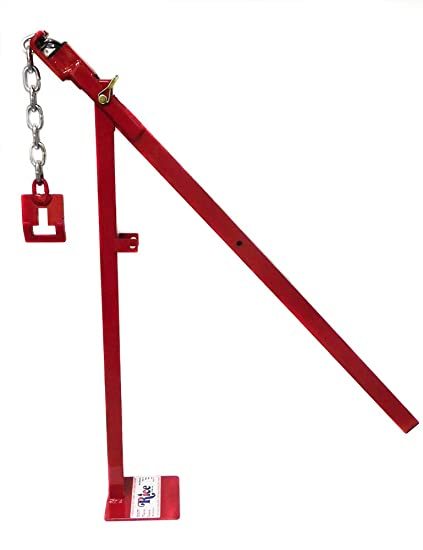 RICE Hydro, Inc  T-Post Puller/Steel Post Puller, Easy to use, Heavy Duty  Welded Steel, Made in The USA