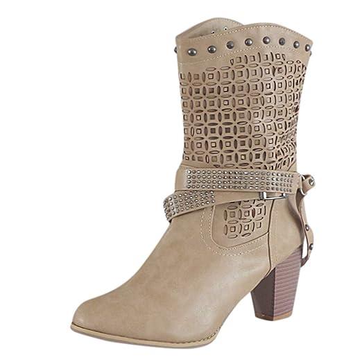 Posional Mujeres Borla Zapatos Sobre La Rodilla Tacones