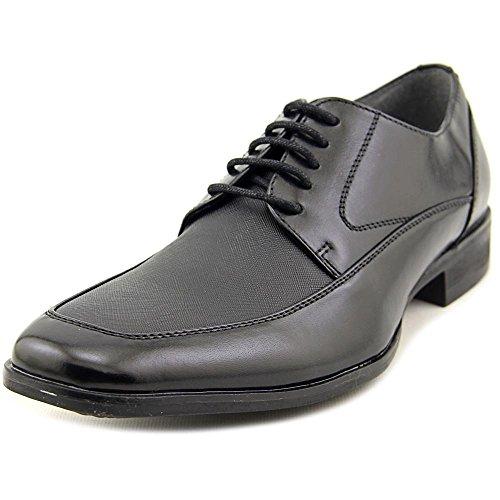 Steve Madden Heren Soloment Schort Teen Oxford Schoenen Zwart