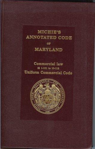 ANNOTATED CODE OF MARYLAND EPUB