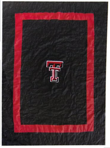 Northwest Authentic Sports New! Texas Tech Red Raiders Embroidered Quilt - Blanket 60