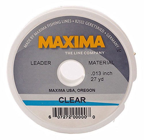 Maxima fishing line leader wheel clear for Fishing line leader