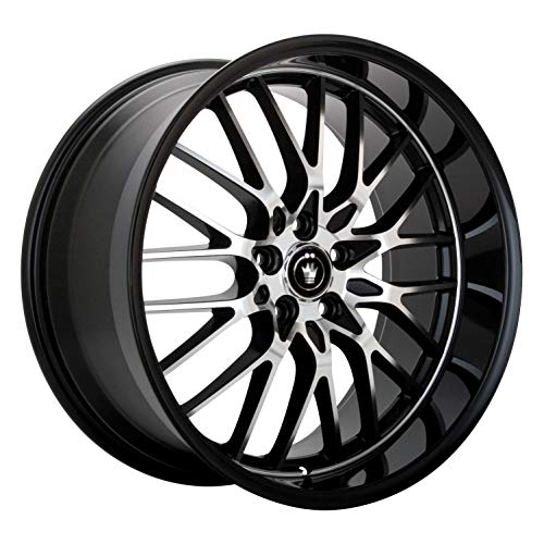 "Konig Lace Black Wheel with Machined Face (15x6.5""/5x100mm)"