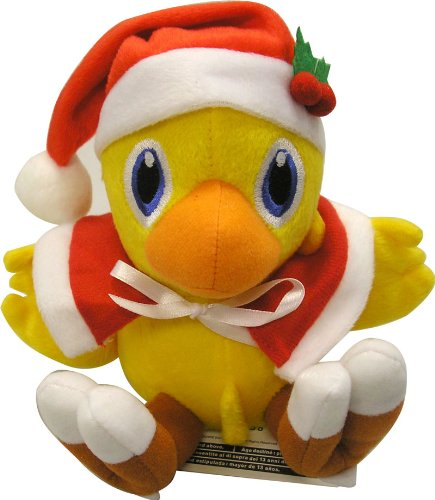 Fantasycart Final Fantasy Vii Santa Clause Chocobo Plush Toy Doll 7