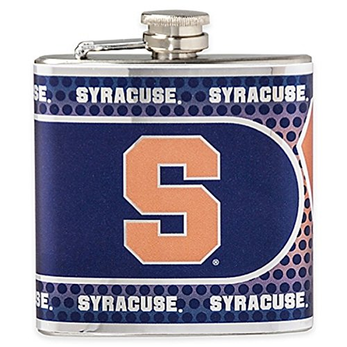 Great American Products NCAA Syracuse Orange Hip Flask, One Size, Black ()