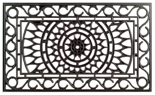 Imports Decor Rubber Doormat, Sunrise, 18-Inch by 30-Inch