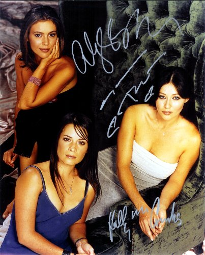 Charmed TV Show with Alyssa Millano As the Charmed Ones Cast Signed Autographed 8 X 10 Reprint Photo - Mint Condition from Nostalgic Cards & Autographs