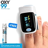 Oxy99 Dr. Boschi Italy Pulse Finger Tip Oxygen Meter ( Free Oxy99 Oxygen Cylinder )