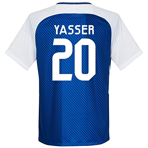 fan products of Al-Hilal Home Yasser Jersey 2017 / 2018 (Fan Style Printing) - XL