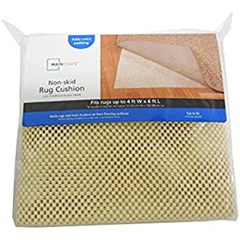 Amazon Com Non Skid Rug Cushion Mainstays Non Slip Rug