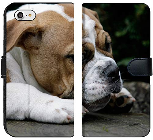 - Apple iPhone 7 and iPhone 8 Flip Fabric Wallet Case Image ID: 7835879 Continental Bulldog Puppy