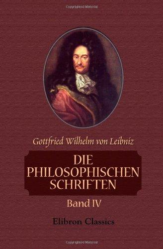 Die philosophischen Schriften: Band IV (German Edition) ebook