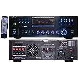 1000 watt home receiver - PYLE HOME PD1000A 1,000-Watt AM/FM Receiver with Built-in DVD Player