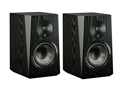 SVS Ultra Bookshelf Speakers – Pair (Black Oak Veneer)