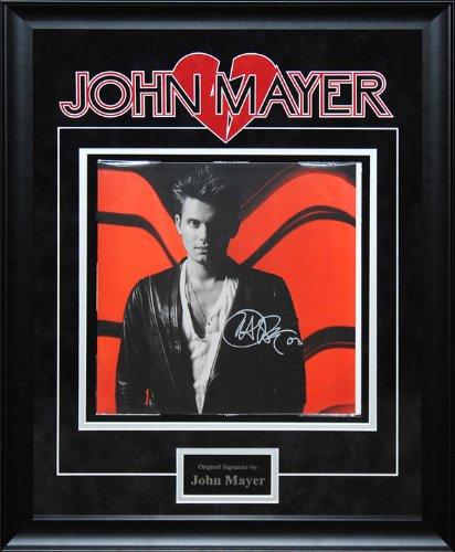 John Mayer Signed Battle Studies Album Insert