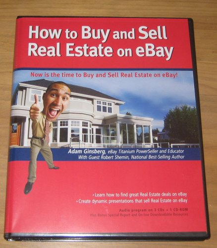 How To Buy And Sell Real Estate On Ebay Amazon Com Books
