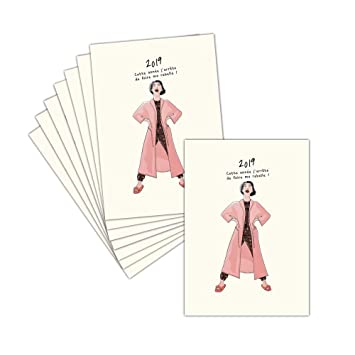 Tarjeta de felicitación de buena resolución - 8 tarjetas ...