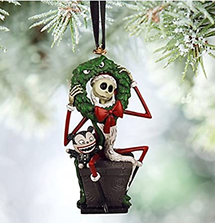 official the nightmare before christmas santa jack skellington xmas decoration
