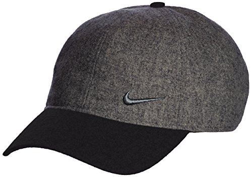 Nike Women's Colorblock Golf Cap Hat (Charcoal Heather/Black)