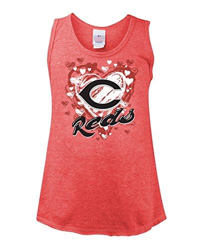 MLB Cincinnati Reds Youth Tank, Red, (21 Cincinnati Reds Jersey)
