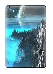 High-quality Durable Protection Case For Ipad Mini/mini 2(nice Moon Over The Cliffs )