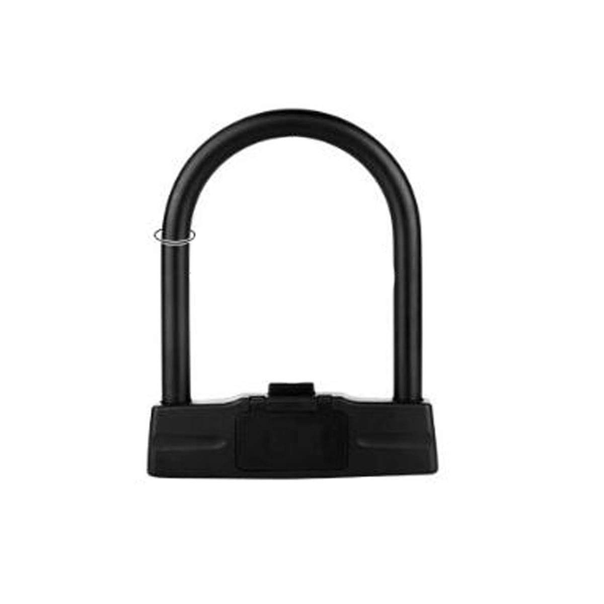 MINGSHENGWANGLUO Comfortable and Practical U-Lock for Mountain Bikes, Electric Cars, Motorcycles, Size: 7.281.2 Inches, Color: Black, Gray Electric car Lock Anti-Hydraulic Shear U-Lock Anti by MINGSHENGWANGLUO