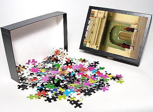 Photo Jigsaw Puzzle of Palace guards in turbans at gateway