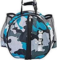 MILACHIC Basketball Bag - Sports Equipment Bag for Soccer Ball, Volleyball, football, Gym, Outdoor, Travel, Sc