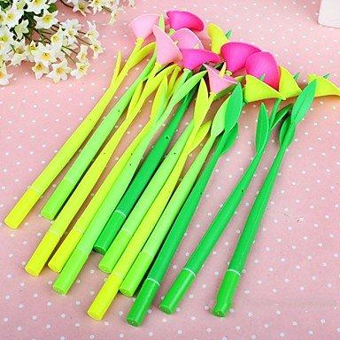 Calla Lily Gel (BST Pens & Markers Calla Lilies Style Gel Pen Set(12 PCS/Set)(Random)