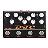 ammoon MOSKY DTC 4-in-1 Electric Guitar Effects Pedal Distortion + Overdrive + Loop + Delay