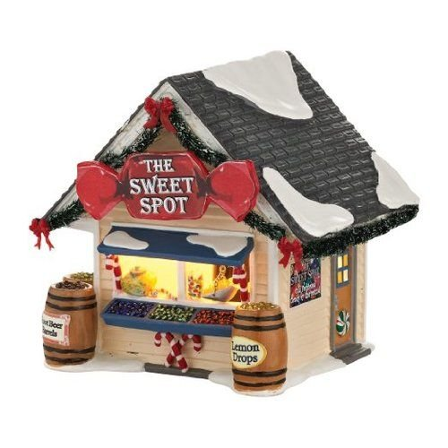 Department 56 Snow Village The Sweet Spot Lit House, 5.43 inch by Department 56