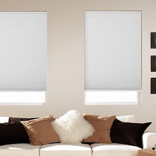 Darkening Room Cellular Shades Cordless - Window Blind Store Room Darkening Cordless Cellular Shade White 39x64