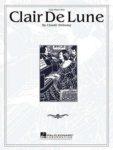 CLAIR DE LUNE Easy Piano
