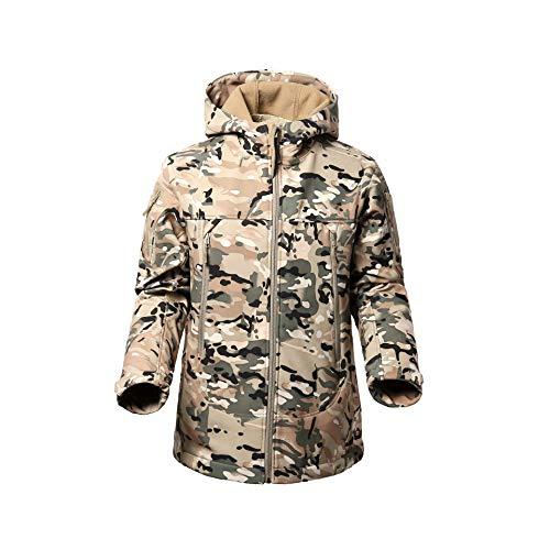 - FLYING EAGLE Men's Tactical Jacket Army Outdoor Coat Camouflage Softshell Fleece Jacket Hunting Jacket