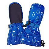 Jan & Jul Baby Toddler Kids Snow Mittens Waterproof Stay-on for Boys Girls