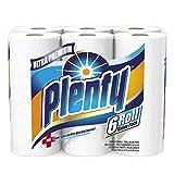 Plenty Ultra Premium Full Sheet Paper Towels, White ebTuHr, 24 Count (5 Pack)