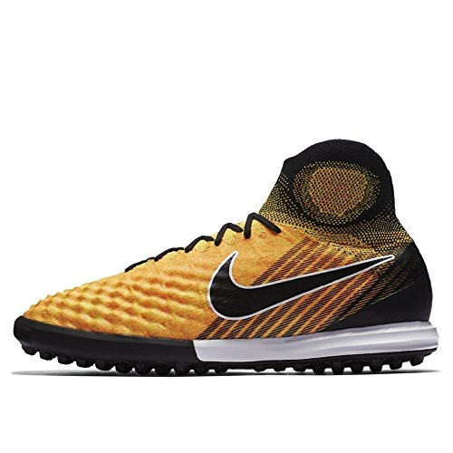 Nike Magistax Proximo II TF, Scarpe da Calcio Uomo Nero-giallo