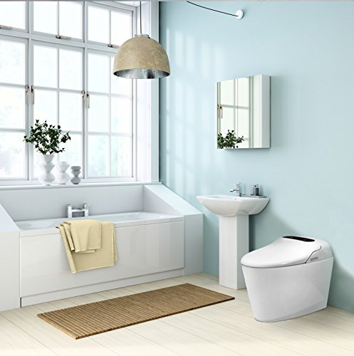 Euroto Luxury Smart Toilet One Piece Toilet with Soft Closing Heated Seat European Design Elongated for Bathroom Toilet Bowls, Toilets, and Toilet Seats by EUROTO (Image #7)