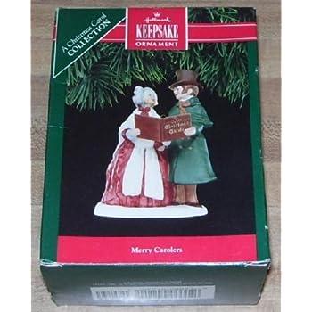 Hallmark Keepsake Ornament 1991 Merry Carolers A Christmas Carol Collection - Amazon.com: Hallmark Keepsake Ornament 1991 Merry Carolers A