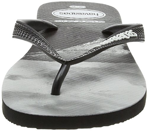 Top Havaianas Chanclas para Black Photoprint Hombre White Multicolor AqdqrPSw