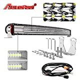 service truck work lights - LED Light bar Curved, AutoFeel 52