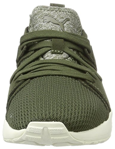 olive whisper Ct Adulte Basses Puma Sneakers Night Blaze White Mixte Vert 6wAx0q